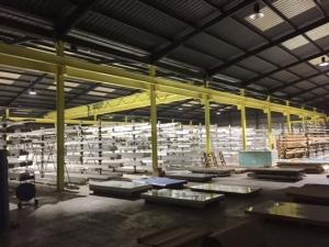 grandes areas led campanas industriales